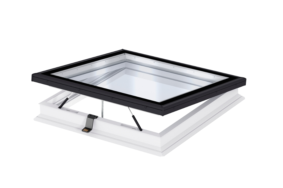 VELUX Flat Roof Base Electric 900mm x 1200mm