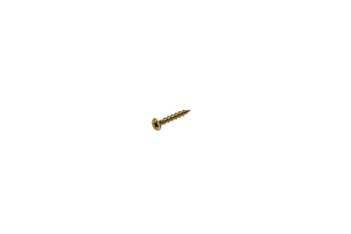 Bullet Gold Wood Screw 4.0 x 30mm Box of 200