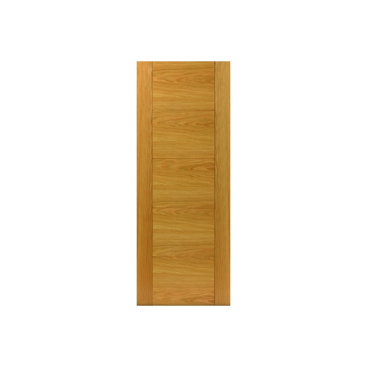 Internal Oak Tigris Internal Prefinished Door 35 x 1981 x 838mm