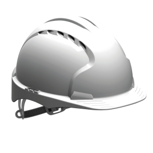 Jsp EVO2 Vented Helmet White