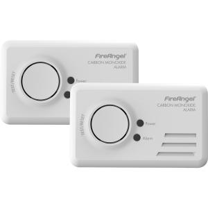Fireangel TCO-9B Carbon Monoxide Alarm Twin Pack