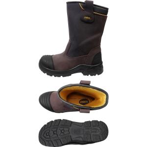 DeWalt Millington Pu Rigger Brown Safety Boots