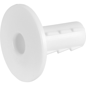 Proception Cable Entry Cover Single White Internal Hole Tidy 5 Pack