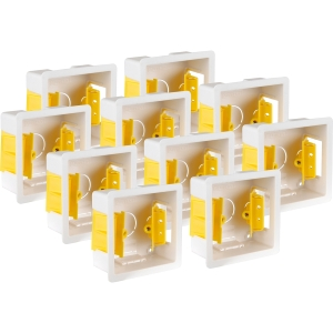 Appleby Dry Lining Boxes 1 Gang 35mm Trade Pack 10 Pack