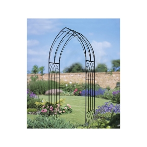 Abbey Metal Garden Arch 2286mm x 1100mm x 410mm