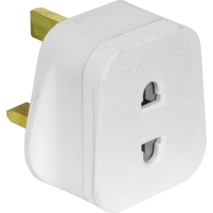 3 Pin Plug Adaptor Shaver Only