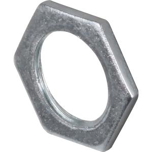 CF25LNG Galvanised Lock Nut 25mm