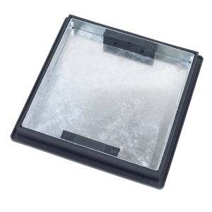 Clark-Drain Manhole Cover and Frame 300mm x 300mm x 5 Tonne Sealed Recessed Tray T1G3