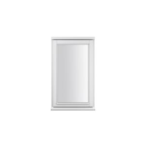 JELD-WEN Stormsure White Timber Window 2 Panel Right Opening 625 x 745mm