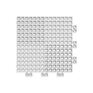 Versoflor Upflor Flooring Tile Traffic White 9 Pack
