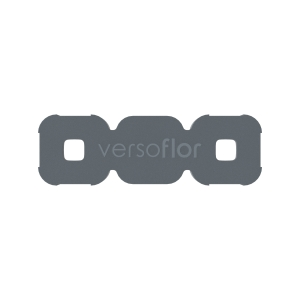 Versoflor Cable Management Clips Grey 10 Pack
