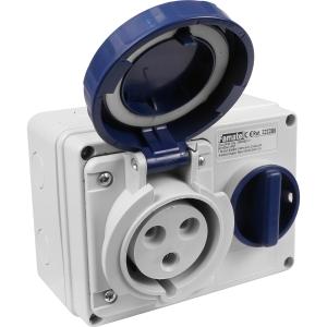 Famatel Uk Ltd Industrial Socket IP67 240V 32A 3P Switched 2P+E