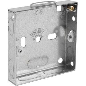 Appleby Metal Box 1 Gang 16mm Each