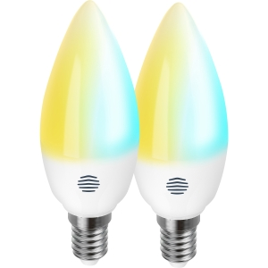 Hive UK7003229 Active Light Cool to Warm White Smart LED Candle Bulb E14 2 Pack