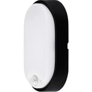 Luceco Eco Oval Bulkhead PIR IP54 700 Lumens - 10W