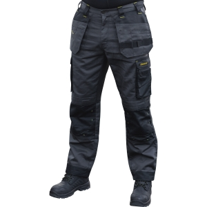 Stanley Austin Stretch Holster Pocket Trousers GREY/BLACK Regular