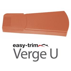 Easy Trim Easyverge U Universal Verge System Terracotta