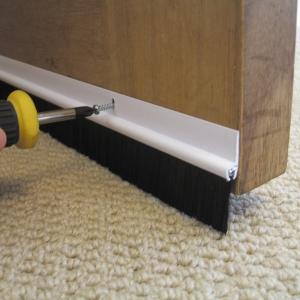 Stormguard Sills Door Strip Bottom Plastic White 838mm