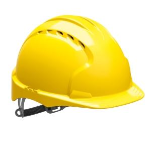 Jsp EVO2 Vented Helmet Yellow