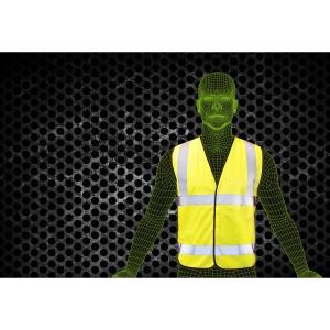 Armour Up HI-VIZ Yellow Safety Vest XL