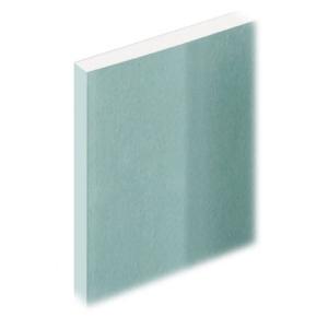 Knauf Moisture Resistant Plasterboard Tapered Edge 12.5mm x 2400mm x 1200mm