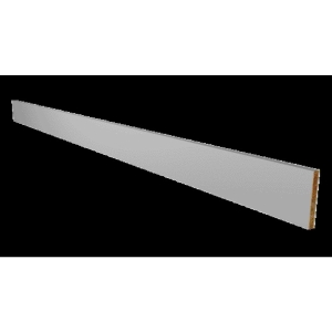 Orlando Gloss Grey Continuous Plinth 2.6m