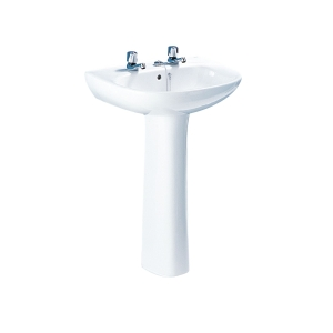 Roca Polo Basin 2 Tap Holes 560mm x 450mm (Basin Only) A32829D000