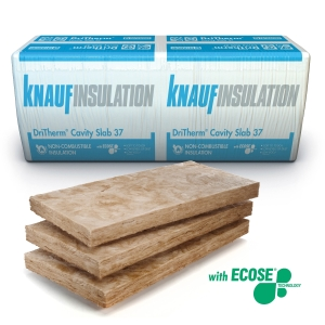 Knauf Insulation DriTherm 37 Cavity Insulation Slab