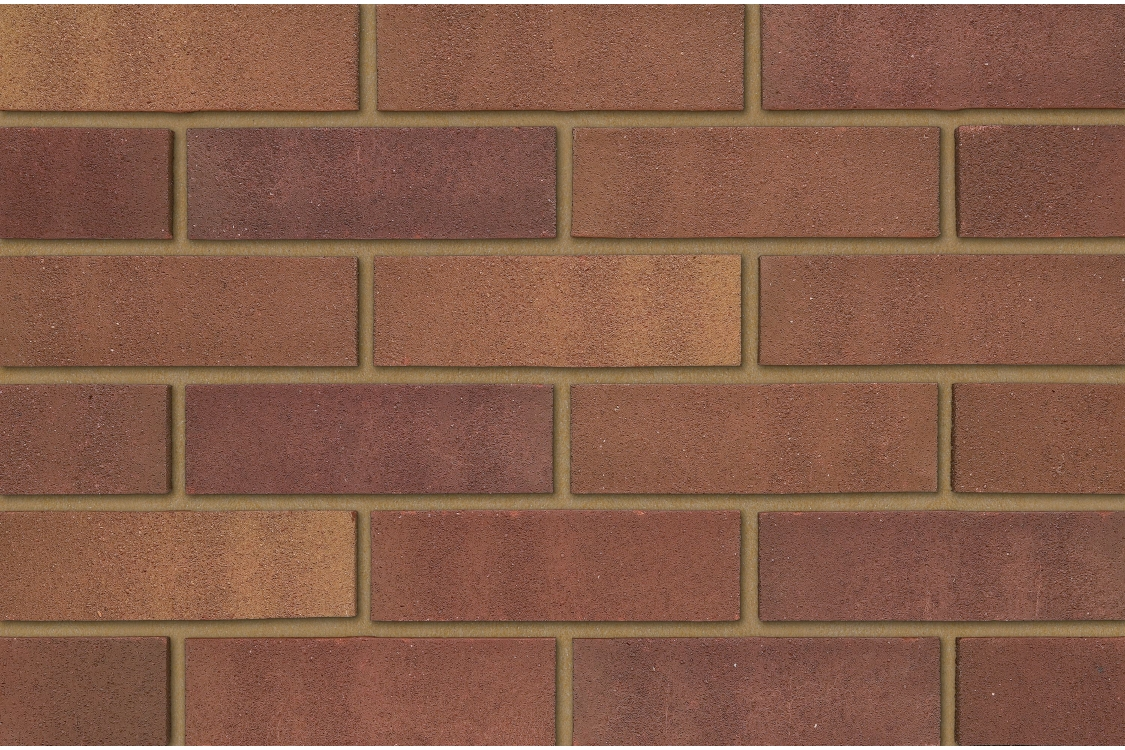 Ibstock Brick Tradesman Heather Mixture 73mm - Pack Of 336