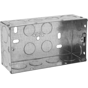 Appleby Metal Box 2 Gang 47mm Each