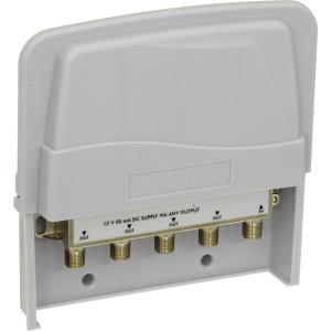 Proception Uhf TV Masthead Amplifier 10DB 4 Way