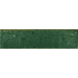 Hazel Green Ceramic Wall Tile 75 x 300mm Pack of 44