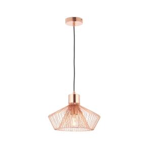 Endon Gabbia Pendant Light Copper