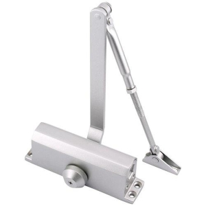 Eclipse 73 Series 28730 EN3 CE Fire Rated Door Closer Silver Painted
