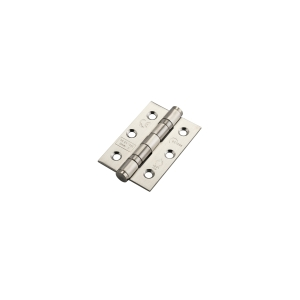 Eclipse Hinge Satin Stainless Steel 2 Ball Bearing Butt 3 x 2in x 2mm 515/4 CE