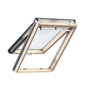 Velux Top Hung Roof Window 780 x 978mm Lacquered Pine Gpl MK04 3070