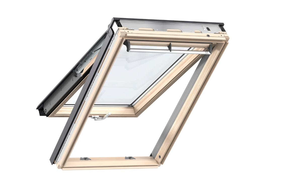 VELUX Top Hung Roof Window 1140mm x 1180mm Pine GPL SK06 3070