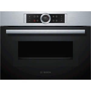 Bosch Serie 8 Integrated Compact Oven & Microwave Stainless Steel - CMG633BS1B