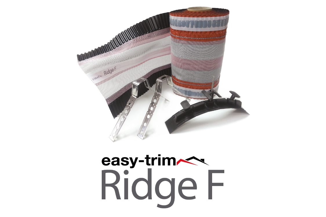 Easy Trim Easyridge Plus Dryfix Ridgekit Black 6m