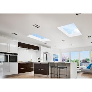 Vista Glaze Flat Rooflight 1000 x 2000mm Greyral 7016 Interior / Exterior