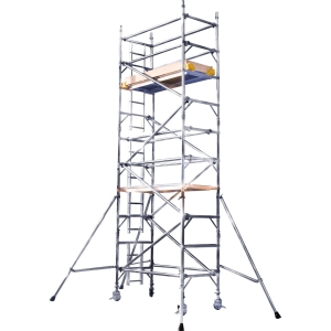 Alloy Tower 3T Single Width 0.85 x 1.8m