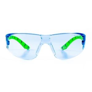Armour Up Wraparound Safety Glasses Blue Lens
