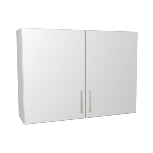 Self Assembly Kitchens Orlando White 1000 Wall