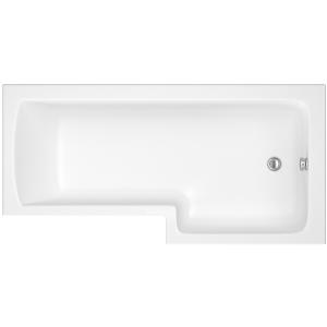 iflo Metz L Shaped Showerbath RH 1700 x 700 mm