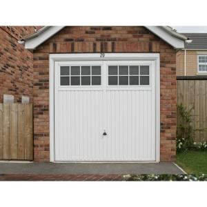 Garador Salisbury Type C Steel Up & Over Garage Door White 2134mm x 2134mm