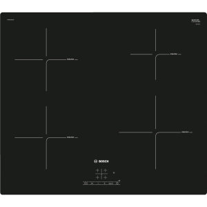 Bosch Serie 4 60cm Induction Hob with Power Boost Black PUE611BF1B