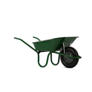 Haemmerlin Heavy Duty Wheelbarrow Green 90L