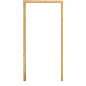External 33 Inch 30 Min Fire Resisting Softwood Door Frame & Smoke Seal No Sill In/Out Opening - SDF29FCA2