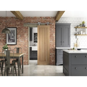 Cottage Sliding Elegant Barn Door 862mm