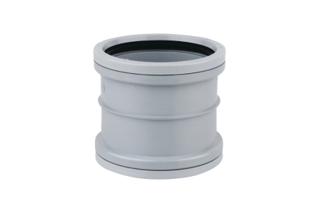 OsmaSoil 3S105G 82mm Ring-Seal Double Socket Grey